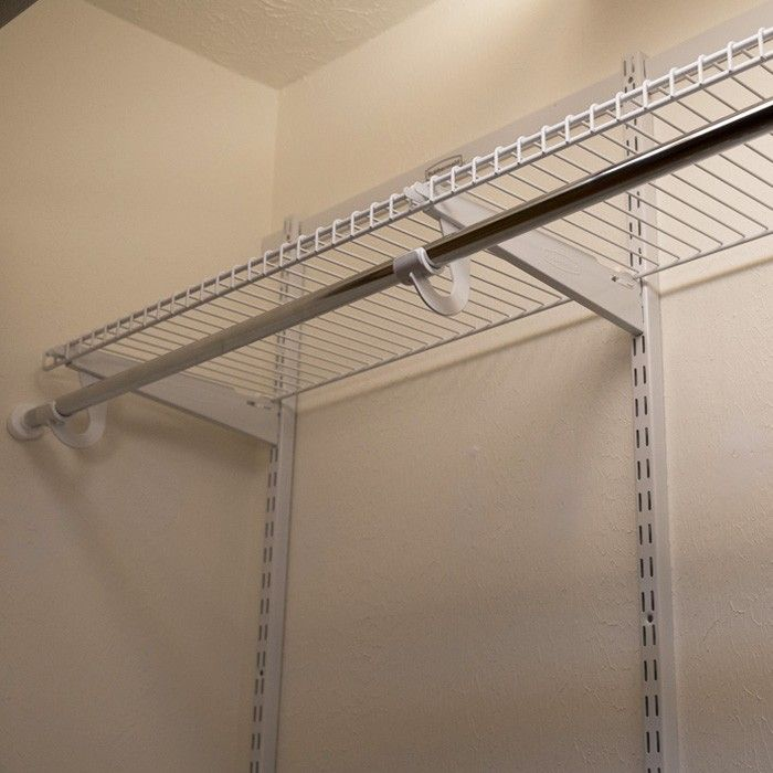 How To Install Wire Closet Shelves Marvelous Innovative