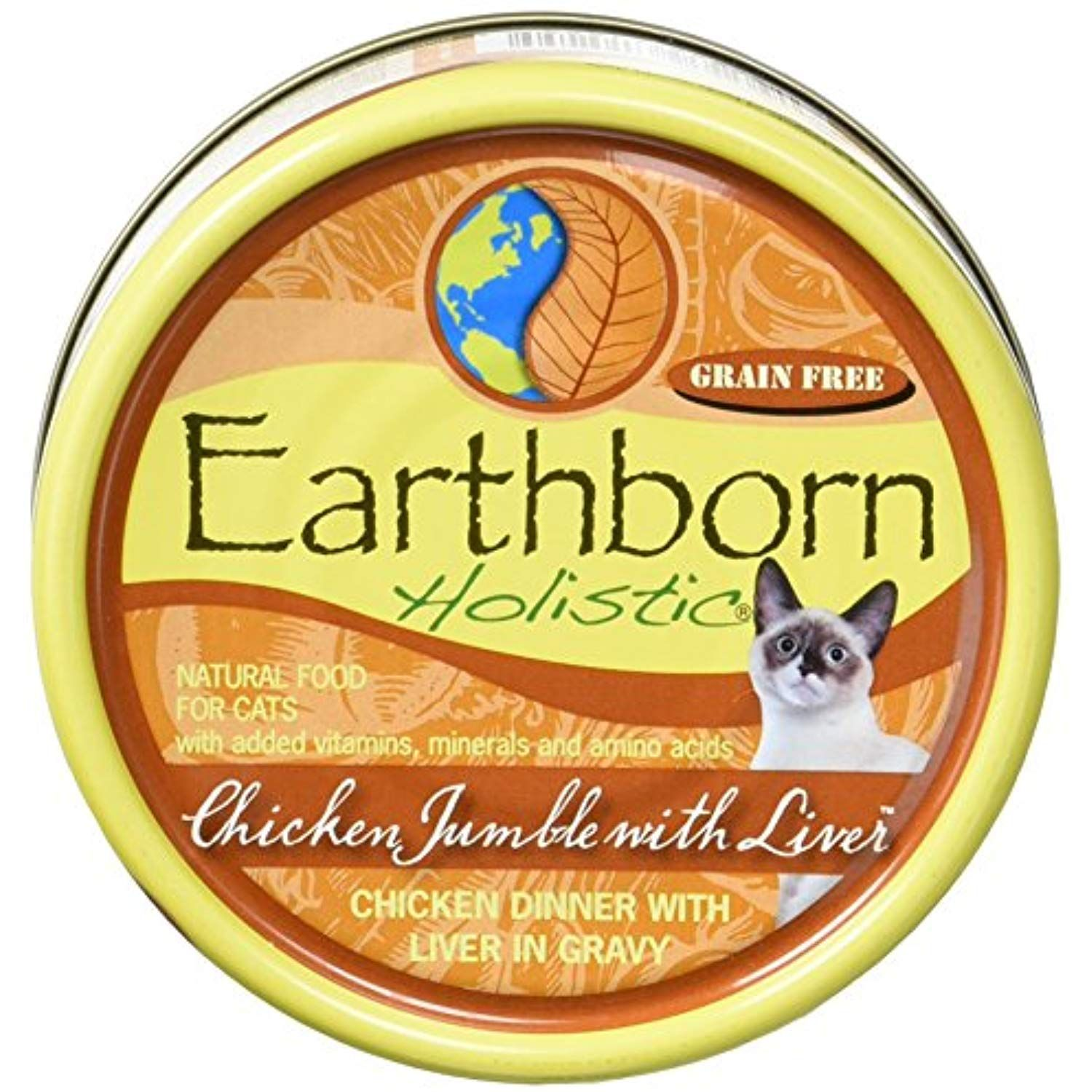 Earthborn Holistic Grain Free Cat Food (Pack of 24) * You