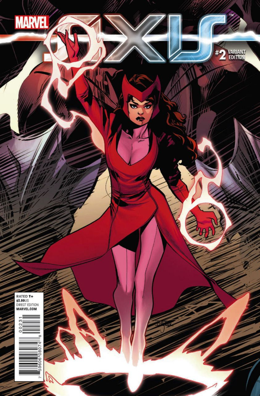 Avengers and X-Men: Axis # 2 (Variant) by Mahmud Asrar