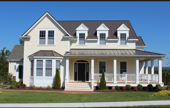 Sail Cloth Hardie Farm House Colors Custom Home
