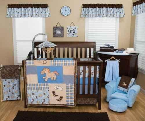 Western Nursery Theme Baby Room Decoration Ideas For A