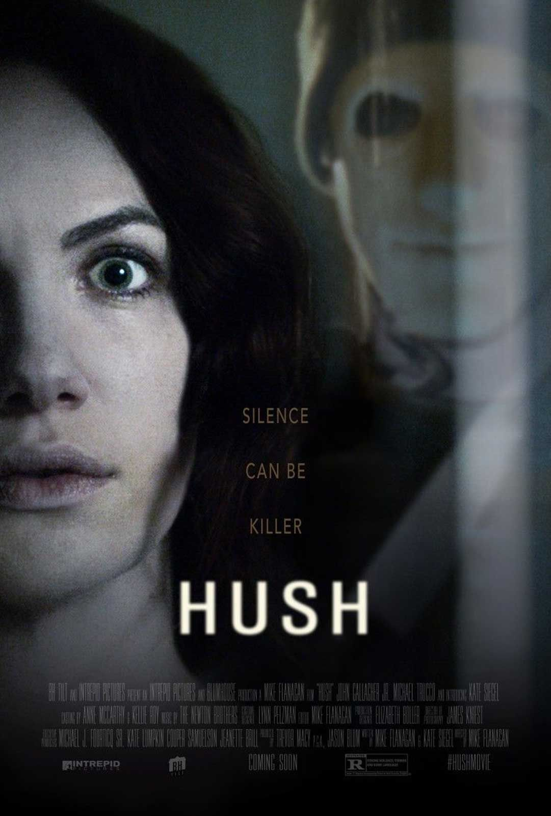 hush 2016 movie review acting the edge and thrillers hush 2016 movie review
