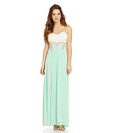 B Darlin 2Tone EmbellishedWaist Dress #Dillards | BQ | Pinterest ...