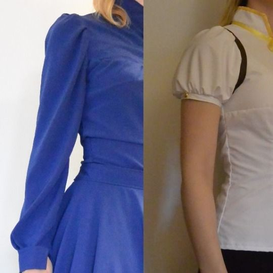 """Downtheblackholeofcosplay: """" Making A Puff Sleeve Is Not"""