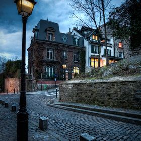 The Lights of Montmartre