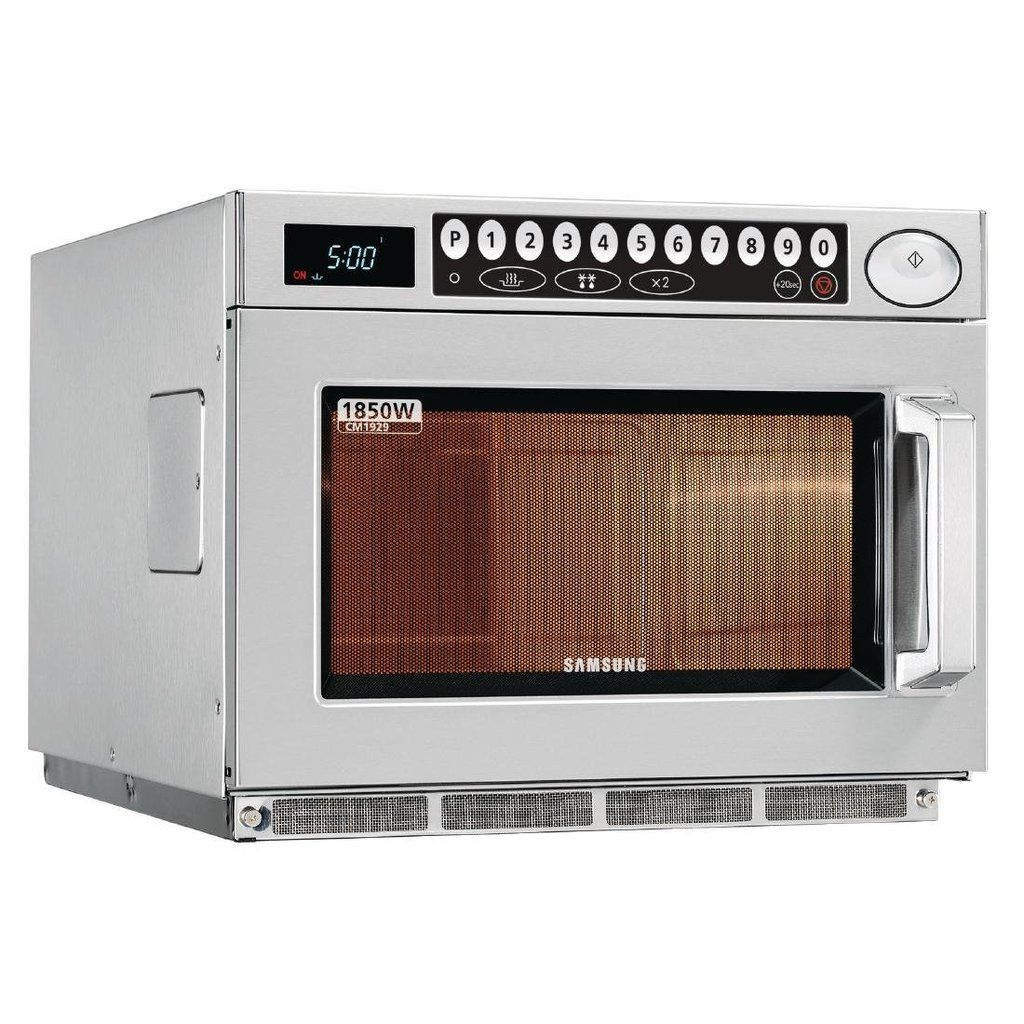 Samsung Heavy Duty 1850w Programmable Commercial Microwave