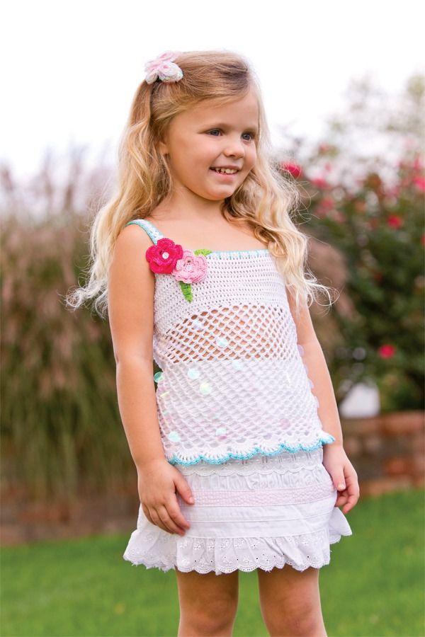 Madrugada Tank Top Little Stiches Pinterest Crochet