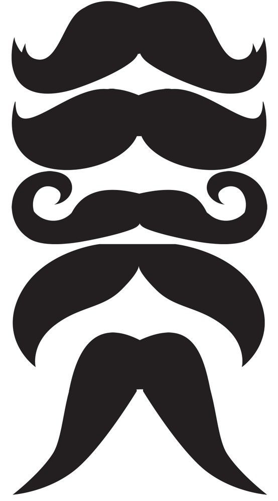Mustaches Template You Never Know When Ll Need One Make Your Own Photobooth Props This Would Have Come In Handy For Our Mexican Christmas