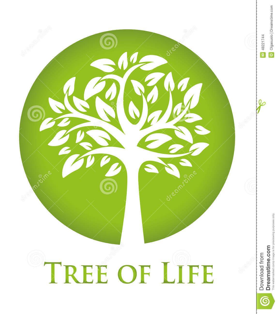 Árbol De La Vida Ilustración del Vector - Imagen: 48221744 | 123 ...