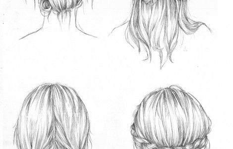 Hair Drawing Tutorial Tumblr