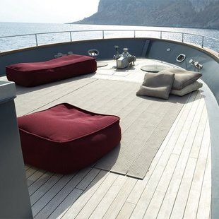 Float Pouf by Paola Lenti | My Yacht When I\'m Rich | Pinterest ...