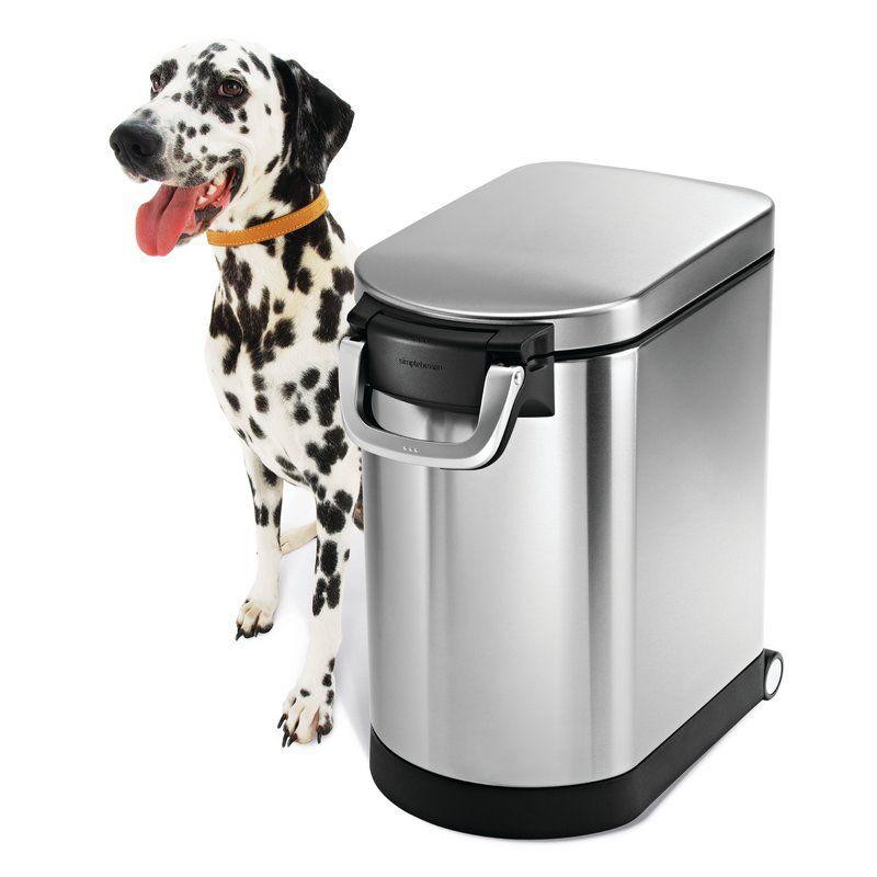 Simplehuman Kitchen Pet Food Storage Container Dog Food