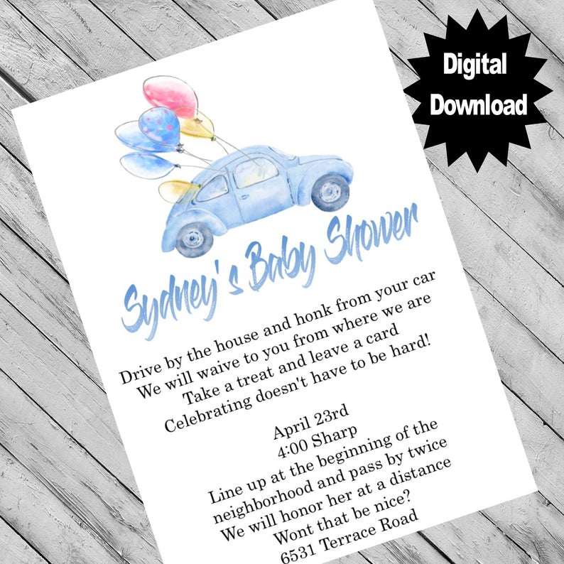 Pin on Baby Girl Baby Shower Invitations