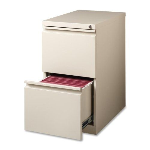 """Lorell Mobile File Pedestal - 15"""" x 22.88"""" x 27.75"""" - Steel - Letter - Ball-bearing Suspension, Security Lock, Recessed Handle - Deep Putty by Lorell. $222.99. Lorell Mobile File Pedestal - 15"""" x 22.88"""" x 27.75"""" - Steel - Letter - Ball-bearing Suspension, Security Lock, Recessed Handle - Deep Putty Mobile pedestal file features high-side drawers with full extension. Steel ball-bearing, drawer suspension delivers smooth drawer access to two file drawers. Factory-i..."""