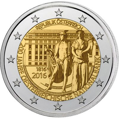 Nt 2 Euro 200 Years Of The österreichische Nationalbankcountry
