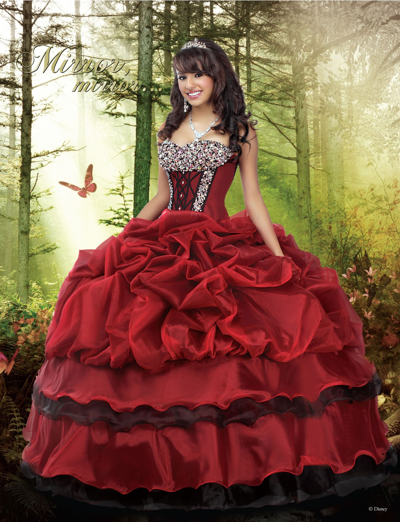 419ccde6ec2 Disney Royal Ball Quinceañera Dress Snow White  DressesByRusso  Quinceañera   Dress  Sweet15