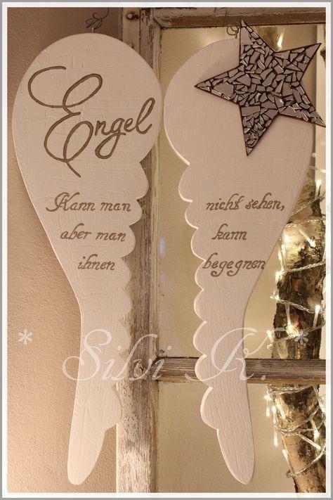 erhältlich hier; de.dawanda.com/...    Engel, DaWanda, Engelsflügel, Holz, Dek... #weihnachtenholz