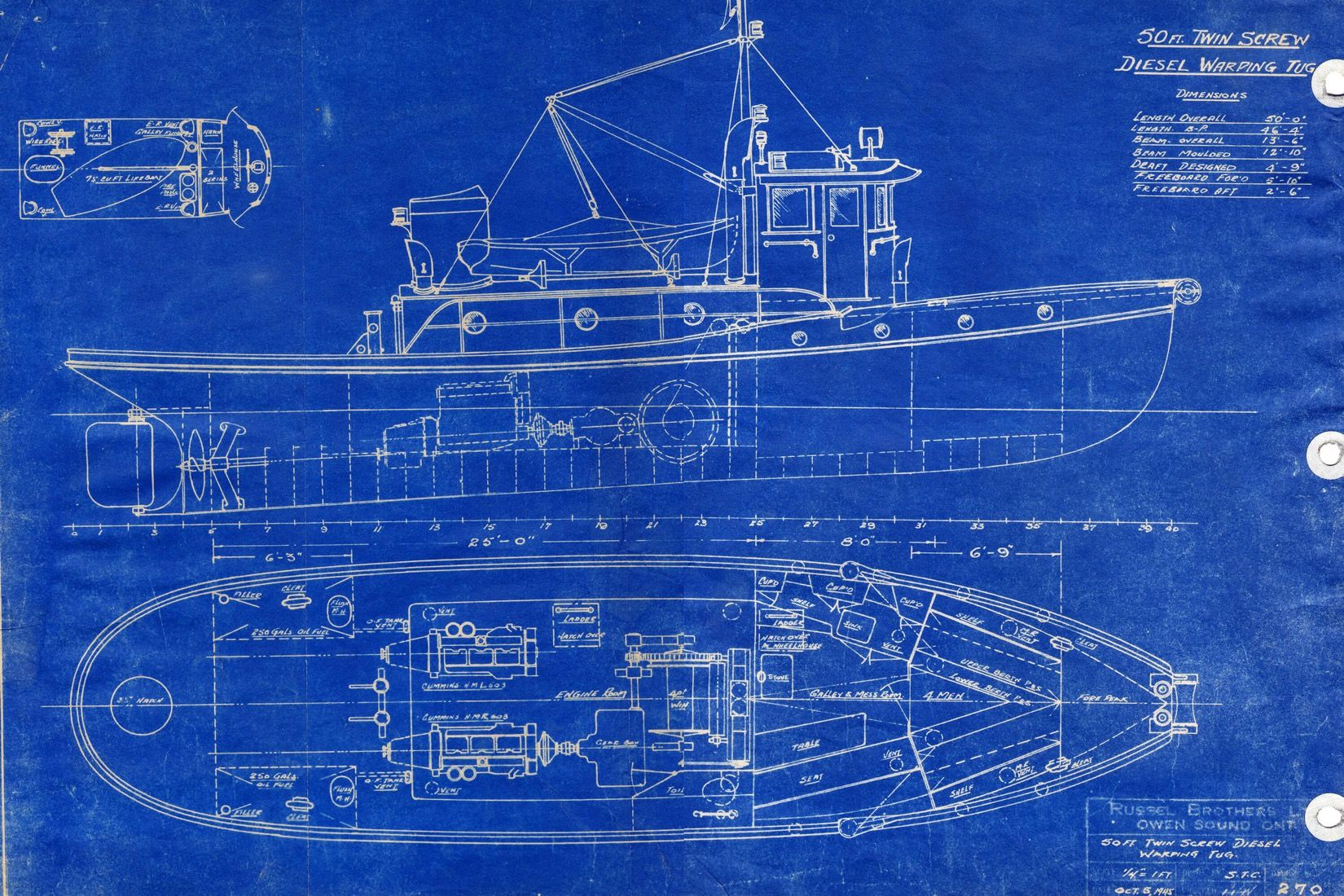 Blueprint boat wallpaper wall mural muralswallpaper design blueprint boat wall mural custom made to suit your wall size by the uks no malvernweather Gallery