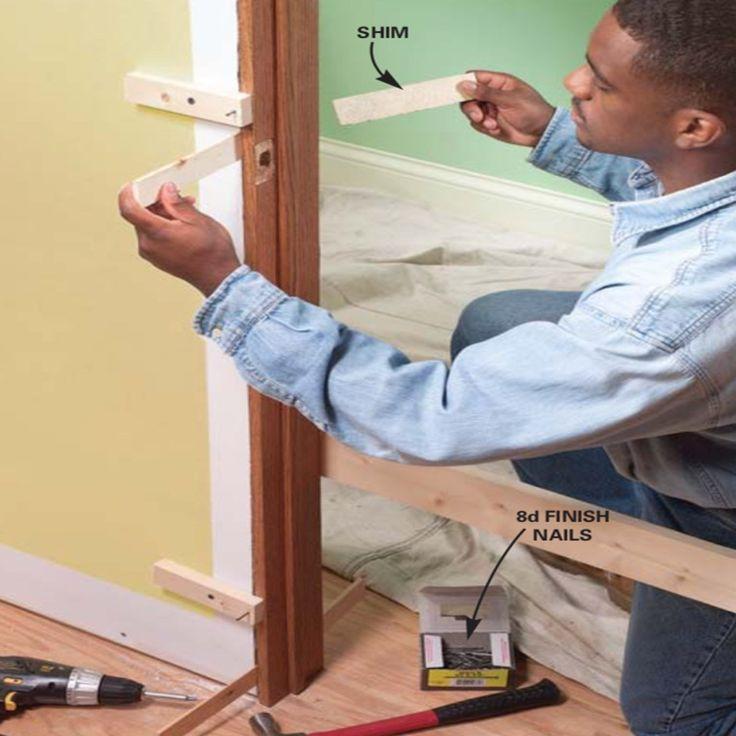 How To Replace An Interior Door Prehung Door Replacement