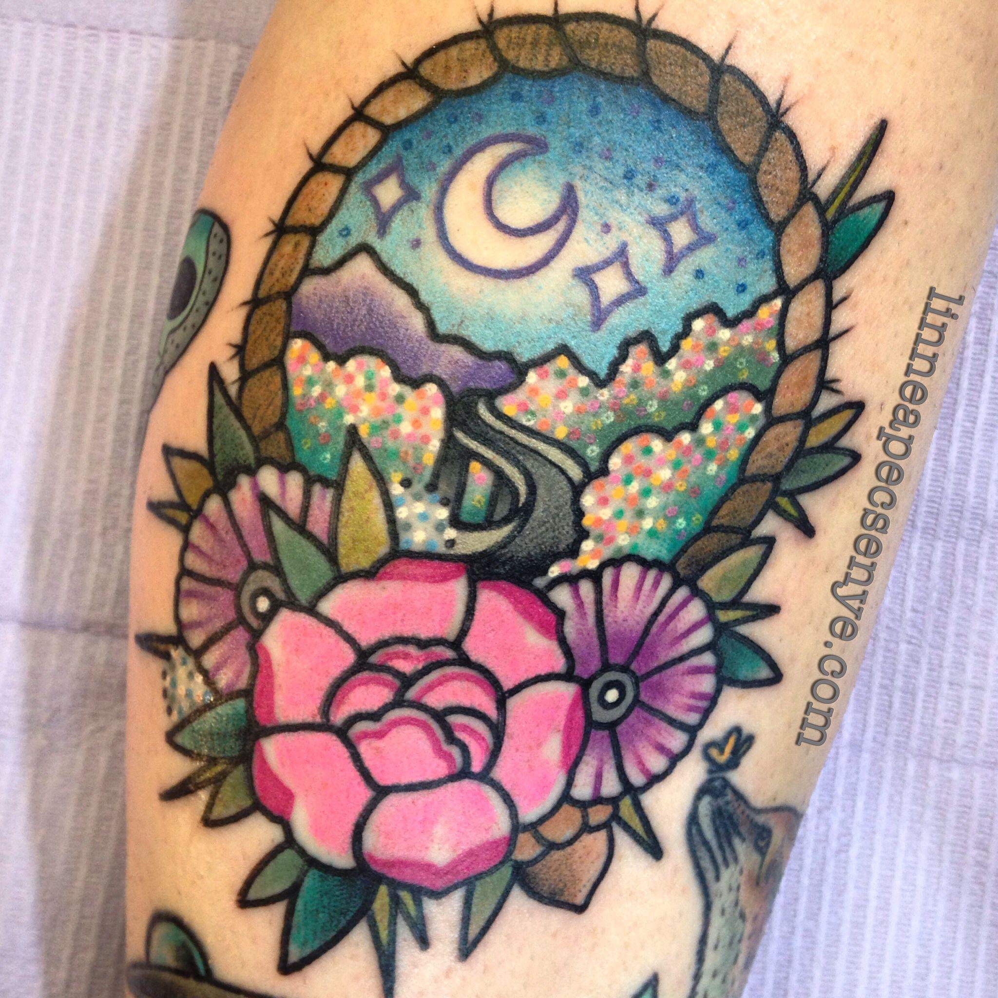 Blue ridge parkway tattoo by linnea pecsenye