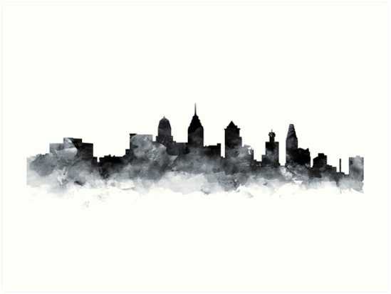 Images Of Philadelphia Skyline Philadelphia Skyline Tattoo Philadelphia Philadelphia Skyline Skyline Tattoo Skyline Silhouette