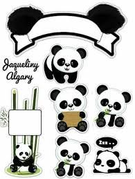 Resultado De Imagen Para Banderines De Panda Baby Showers De