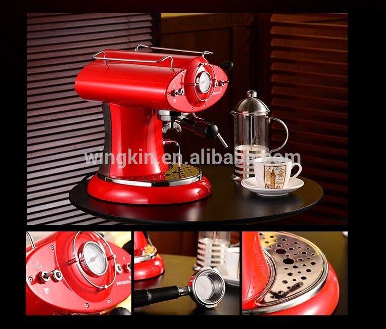 Retro Red Espresso Coffee Machinecoffee Makerespresso Machine