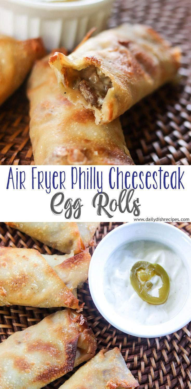 air fryer recipes breakfast Recipes in 2020 Egg rolls