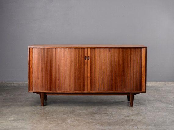 Danish Sideboard Credenza : 5ft. mid century sideboard credenza brande møbelfabrik teak danish