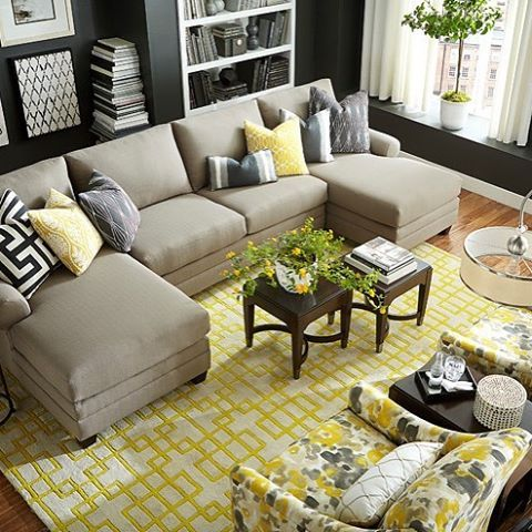 I This Sectional Sofa Configuration With Two Chaises You Can Both Have Your Favorite Seat