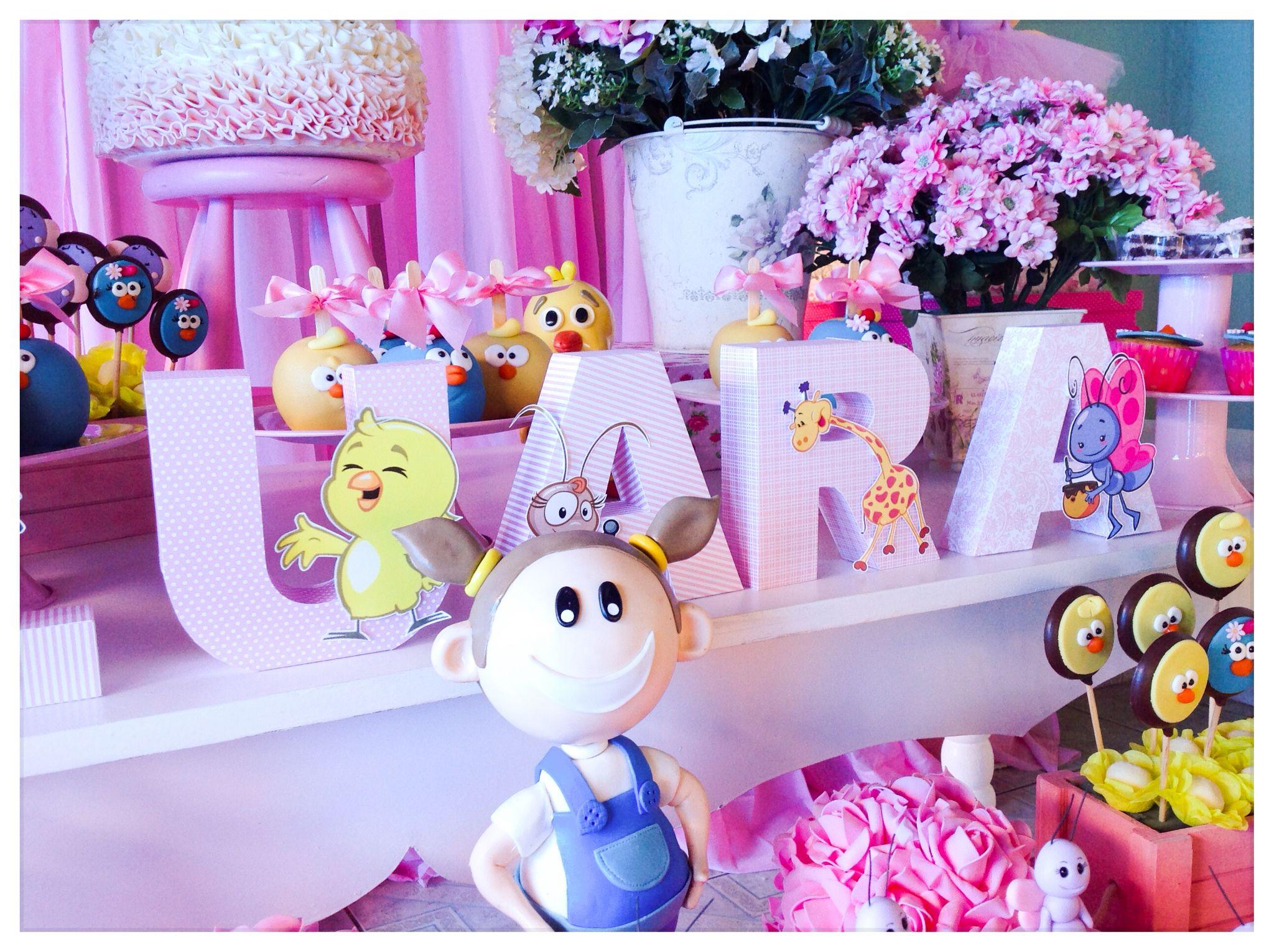 Galinha pintadinha rosa Galinha pintadinha rosa -> Decoração De Festa Infantil Da Galinha Pintadinha Rosa