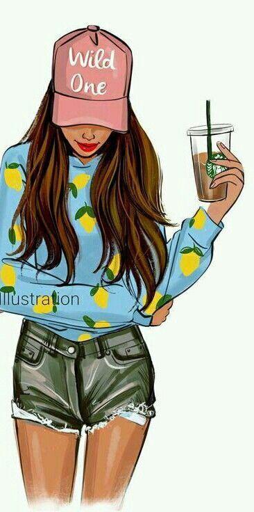 Fruit Blouse 2 Cute Girl Drawing Cute Emoji Wallpaper Girls Illustration