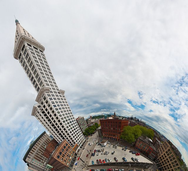 A portrait of  the Smith Tower, as it sees itself by Michael Holden, via Flickr