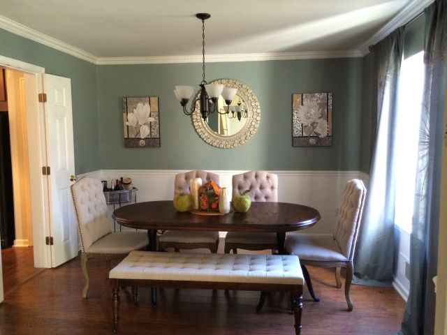 Dramatic Before And After Dining Room DIY Makeover (and