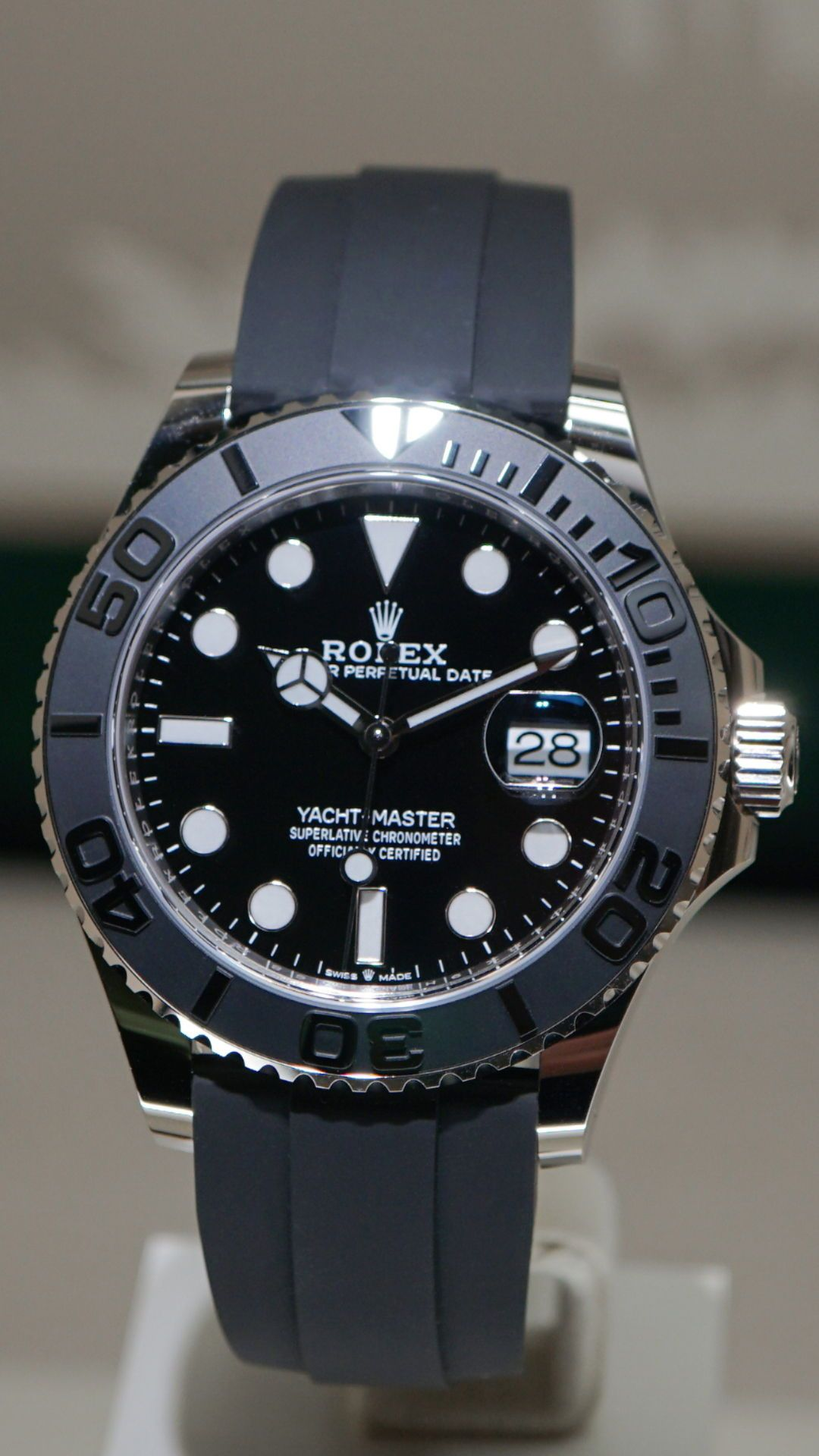 Rolex Really Surprised Us With This Big Beauty What Do You Think Watchfam Of The New Yacht Master 42 Rolex Watches Rolex Watches For Men Luxury Watches