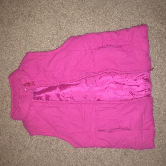 Pink vest Pink vest Jackets & Coats Vests