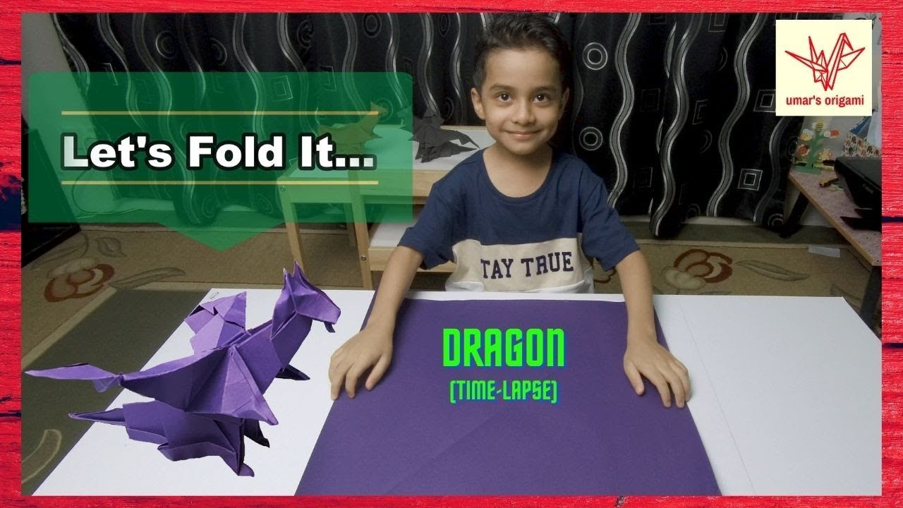 Photo of origami dragon time-lapse | umar's origami