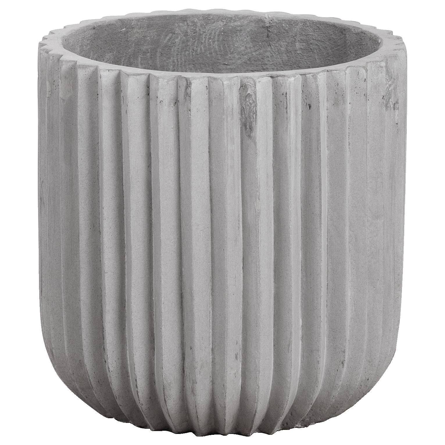 Allure 37x37cm Concrete Planter Stone Grey With Images Concrete Planters Garden Planters Diy Grey Stone