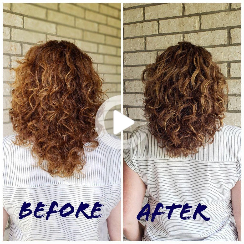 Curly Girl in 9   Curly hair styles, Layered curly hair, Thick ...