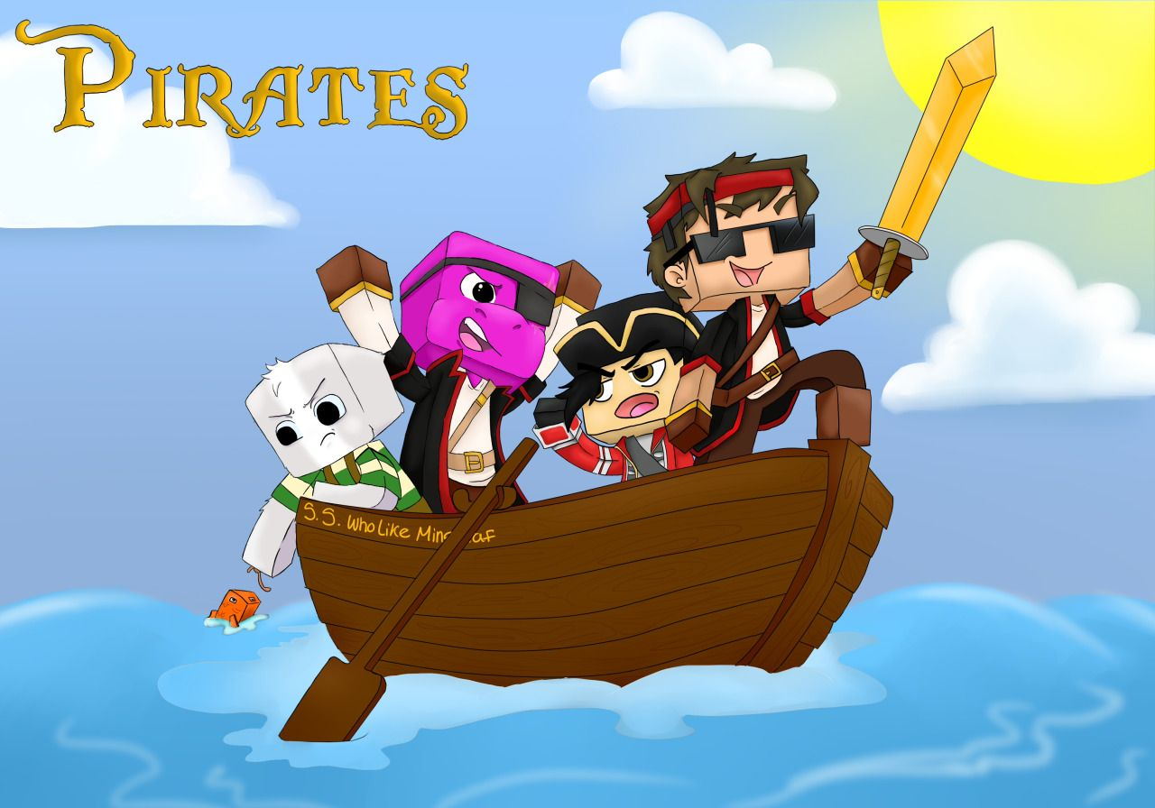 Minecraft Pirates Games Spiele Jeux Juegos Juegos De - Minecraft games spielen