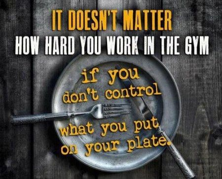Great Control What You Put On Your Plate Quotes Quote Fitness Workout Patience  Motivation Control Exercise Motivate