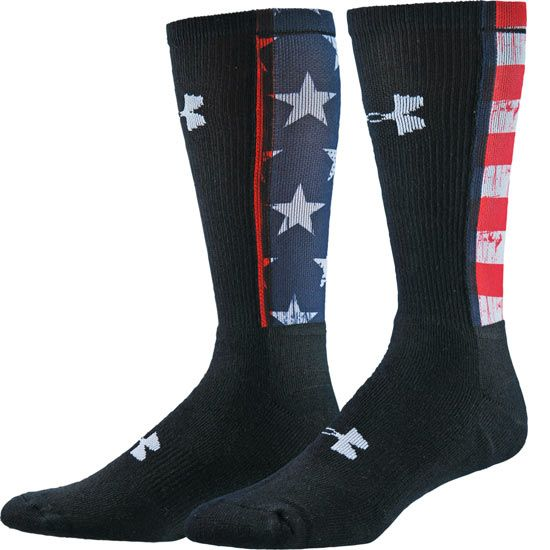 Under Armour Stars And Stripes Crew Sock Fashion Socks