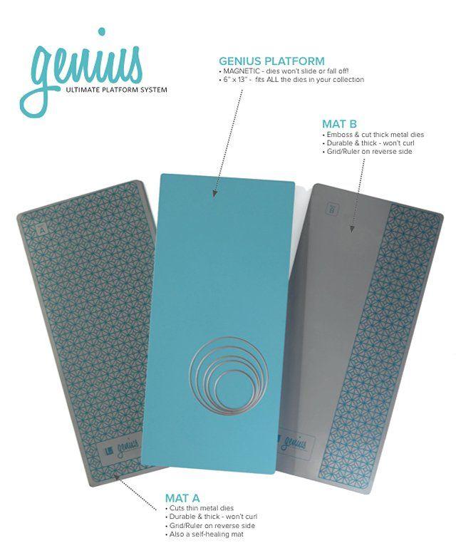 We R Memory Keepers Genius Ultimate Platform System 6 X 13 Magnetic Platform Card Making Supplies We R Memory Keepers Card Making