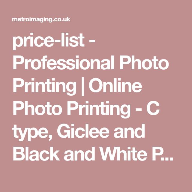 b43f0fac2a price-list - Professional Photo Printing