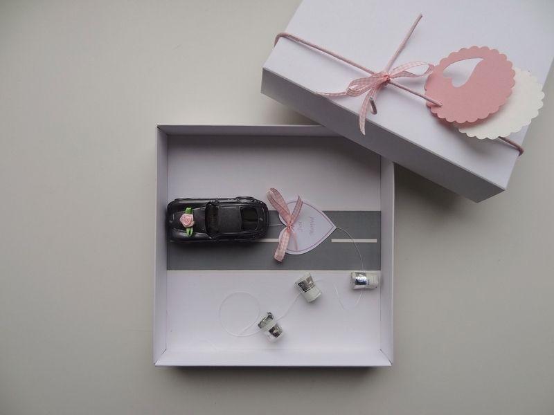 geldgeschenk hochzeit auto bahn rosa wedding gift and wrapping ideas. Black Bedroom Furniture Sets. Home Design Ideas
