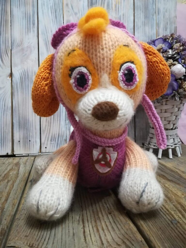 5 awesome paw patrol amigurumi doll patterns for knitters