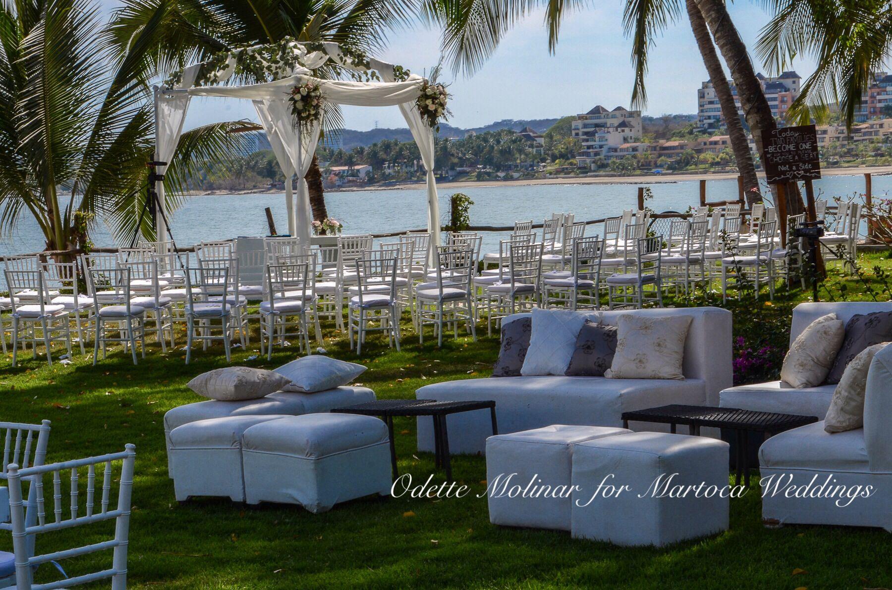 Wedding Planner Odette Molinar Venue Martoca Beach Garden  # Muebles Nayarit