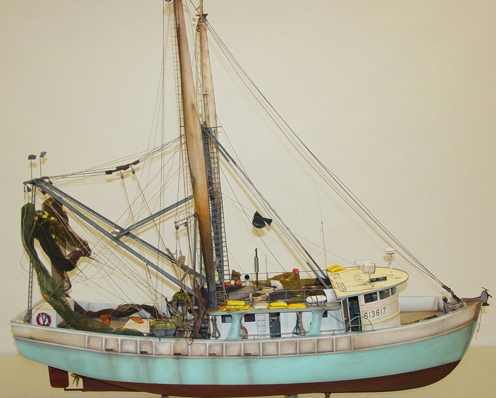Shrimp Boat 1/32 Saved by Stephen Lok ~END~ | Shrimp Boat ...