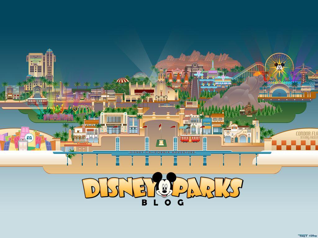 Celebrate Disney California Adventure Park Expansion with a New Disney Parks Blog Wallpaper