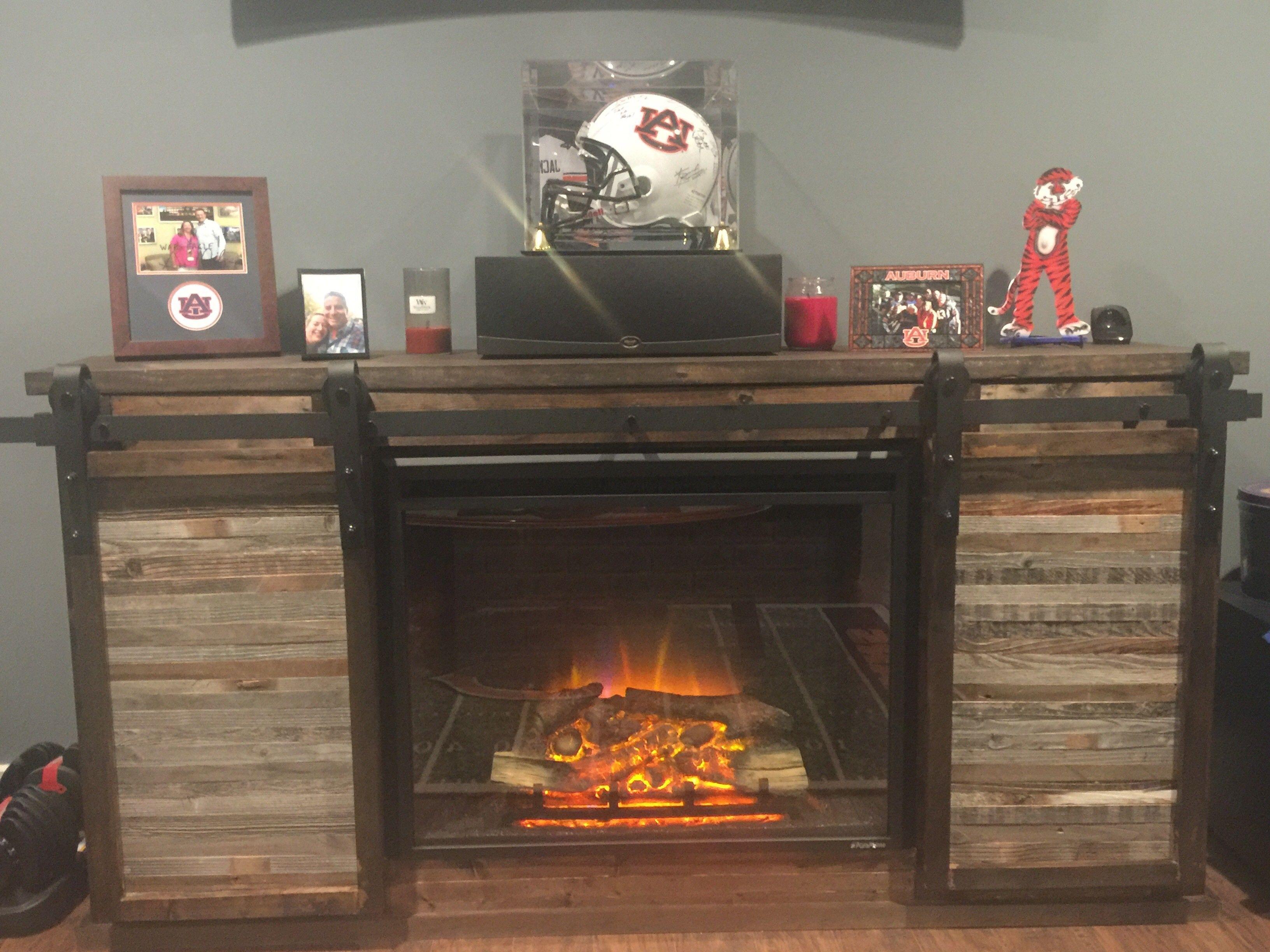 Ana White Grandy Sliding Door W Fireplace Insert Diy Projects